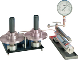 Type T Hydraulic Deadweight Tester